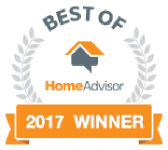 HomeAdvisor Winner Badge