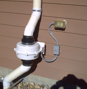 Radon System Fan in Colorado Springs