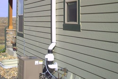 radon mitigation on Westminster Colorado home
