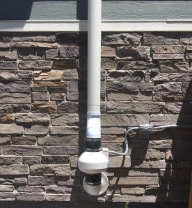 installed radon mitigation in lakewood system