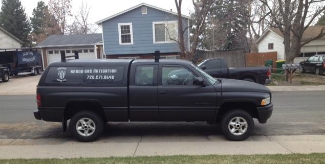 american radon truck