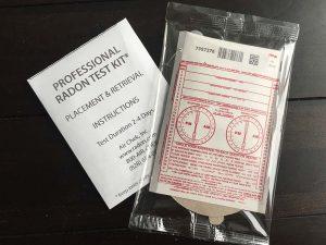 free charcoal radon test kit